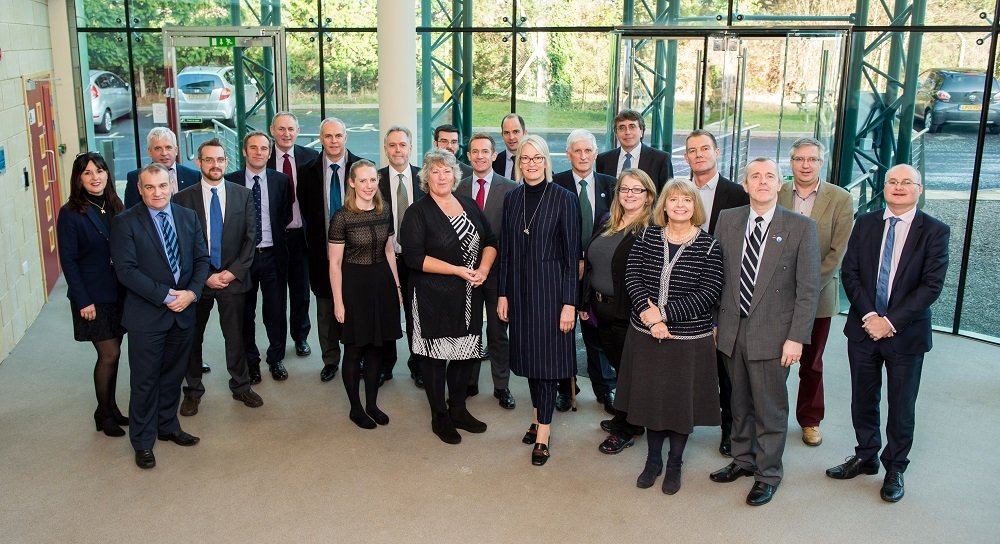 Press release - Margot James MP and Harriett Baldwin MP with Worcestershire businesses and representatives