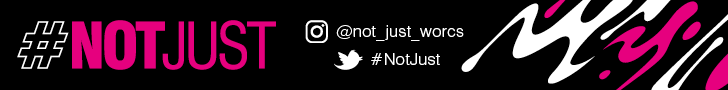#NotJust campaign banner